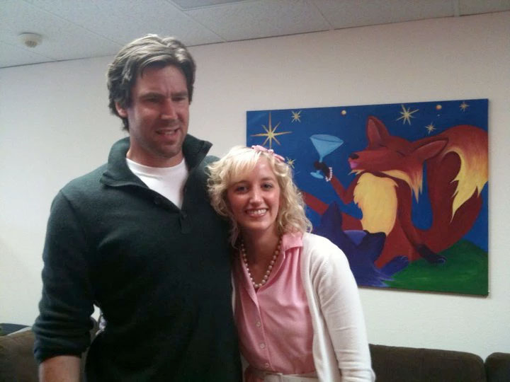 Alexa Rose with Animal Planet host, John Fulton.