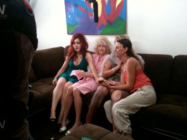 "Alexa Rose on the set of Comediva.com's ""The Divas"" as Lucille Ballbuster"