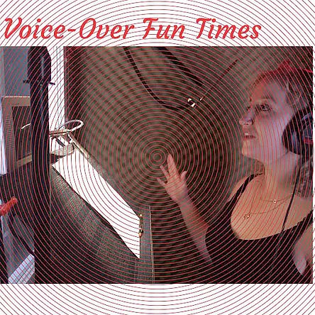 Alexa Rose recording Voice Over